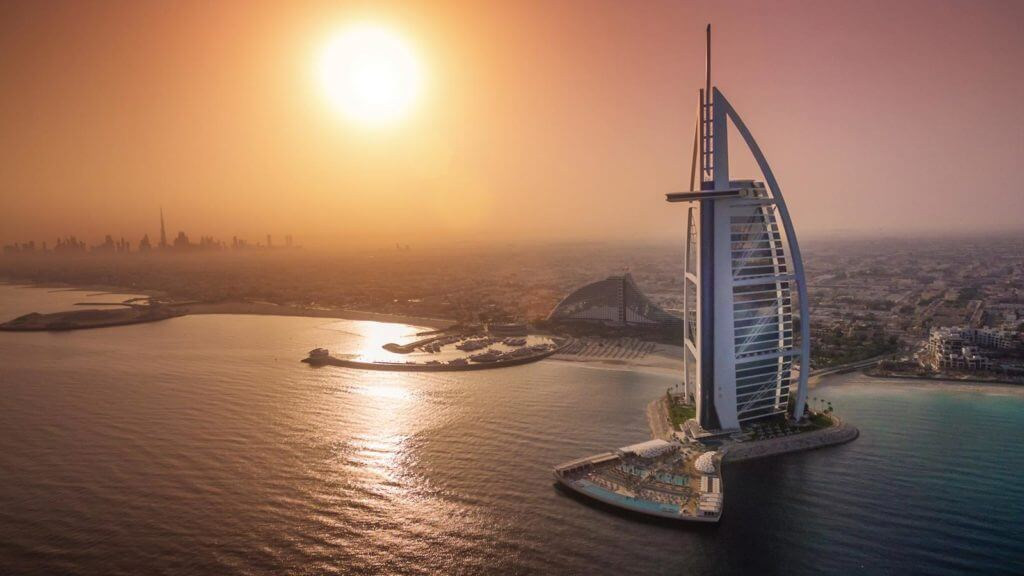 Burj Ul Arab with Dubai Desert Ride which is Best Tour Company in Dubai