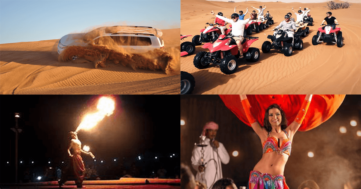 4*4 Dubai Desert Safari Private Tour
