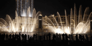 Dancing Fountain Dubai Mall