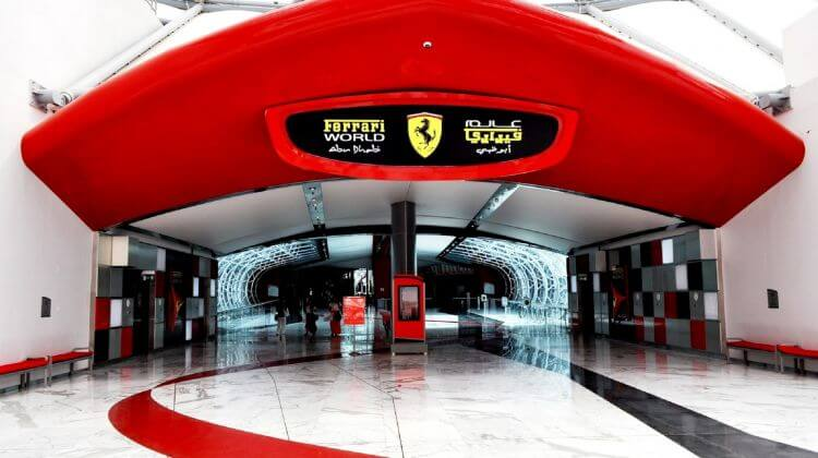 Abu Dhabi Ferrari World with Dubai Desert Ride which is Best Tour Company in Dubai