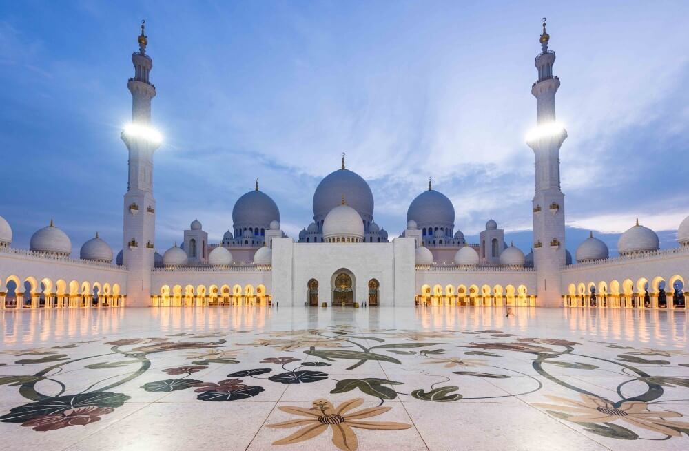 Abu Dhabi Sheikh Grand Mosque with Dubai Desert Ride which is Best Tour Company in Dubai